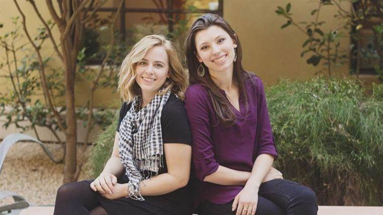 Christian artists Breanna Kosk and Joanna Duka