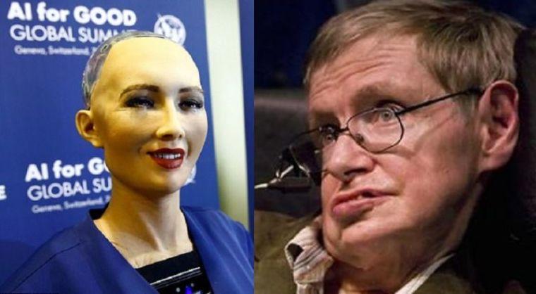 Humanoid, Sophia, Stephen Hawking