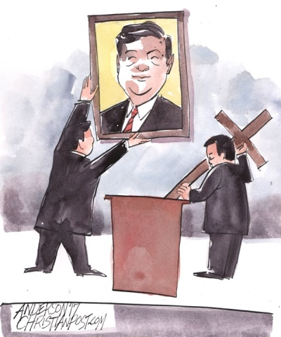 China to Christians: Replace Your Crosses with the President's Picture