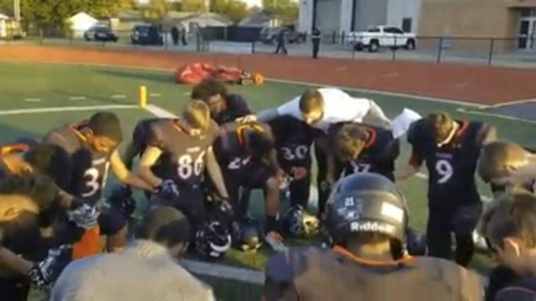 NPS team prayer