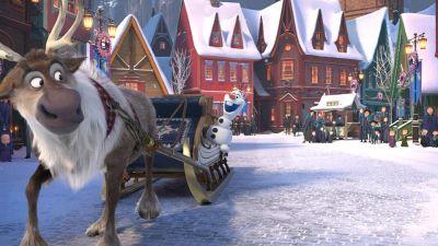 Olaf on Frozen