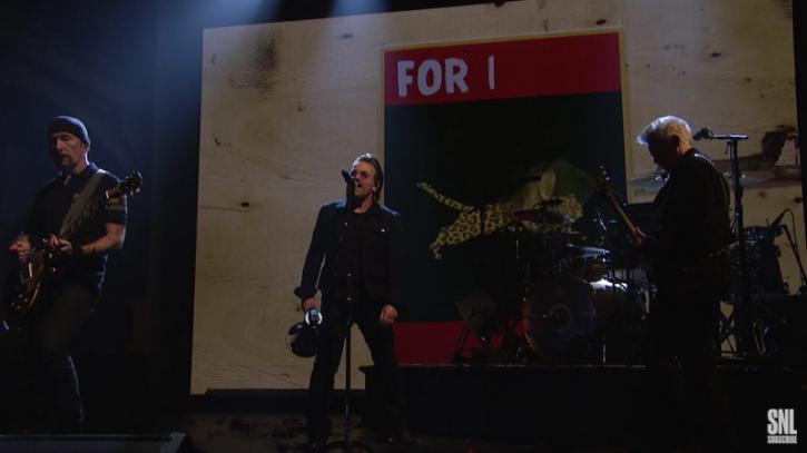 U2 Debuts Bible-Themed Single With Kendrick Lamar on SNL