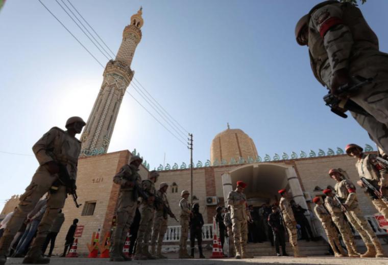 Al Rawdah mosque egypt