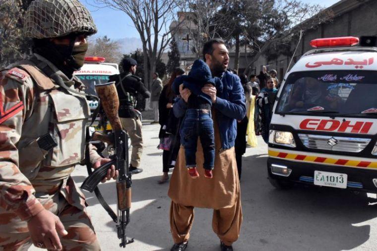 Quetta church bombing