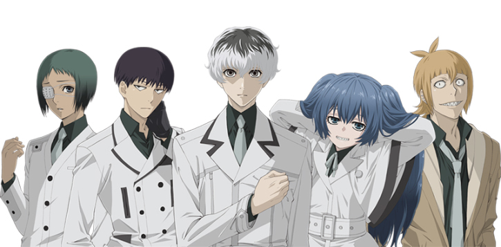 Tokyo Ghoul:re' Update: New Visuals, Posters, Character