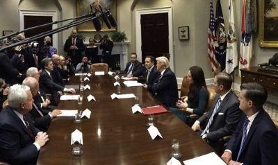 Trump prison reform meeting