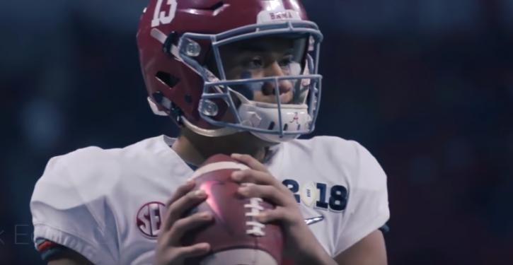 Alabama Quarterback Prayed, Spoke in Tongues to Keep Calm
