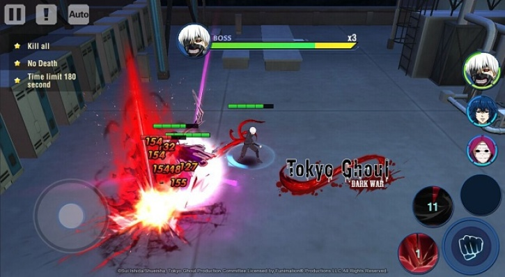 Tokyo Ghoul: Dark War' Available For Android In Selected