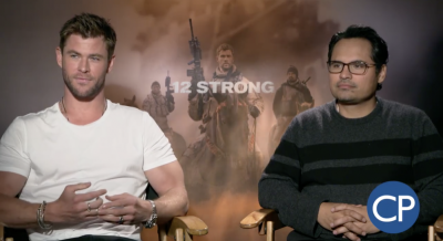 Chris Hemsworth and Michael Pena