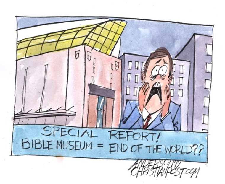 A Media Meltdown Over the Bible Museum