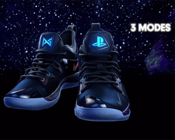 9aa28da90ead PlayStation has teamed up with Nike Basketball and NBA All-Star Paul George  to introduce the PG-2