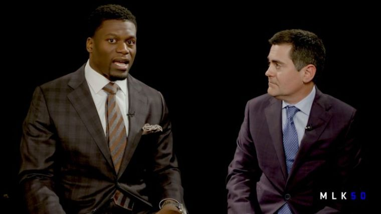Benjamin Watson (L) and Russell Moore