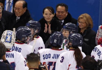 Kim Yo Jong, Korean Women's Hockey Team