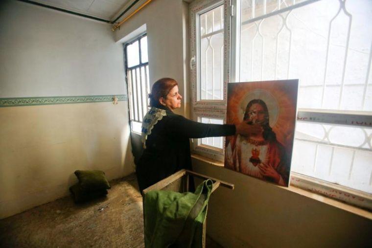 Iraqi Christian woman