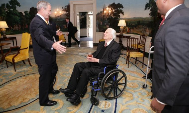 George W. Bush, Billy Graham