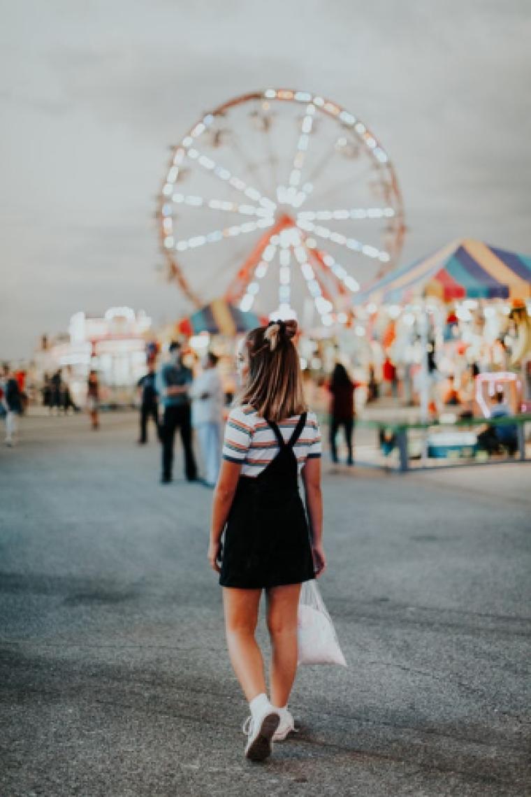 Girl in carnival