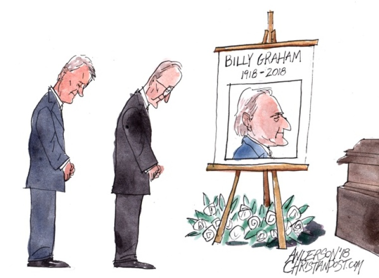 Presidents Pay Tribute to Billy Graham