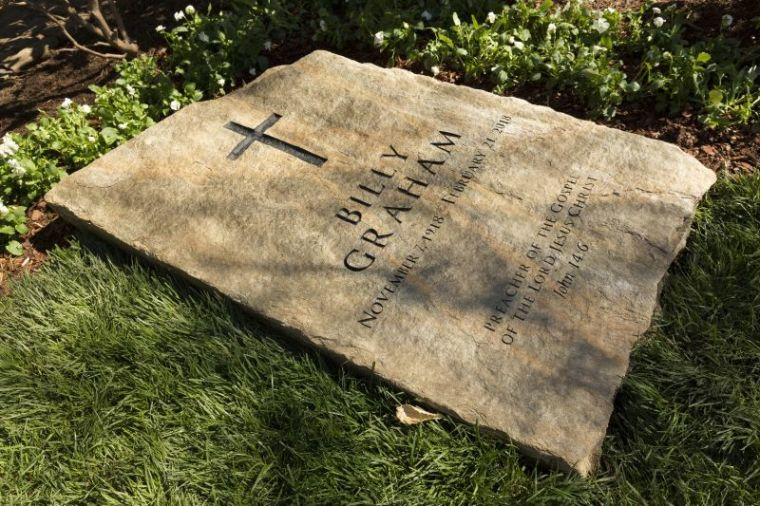 Billy Graham grave