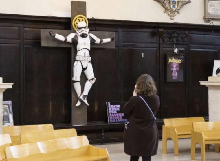 Stormtrooper Crucifixion