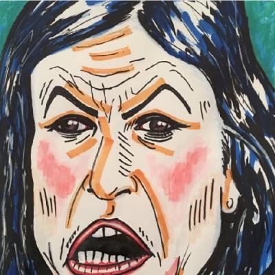 Jim Carrey Painting