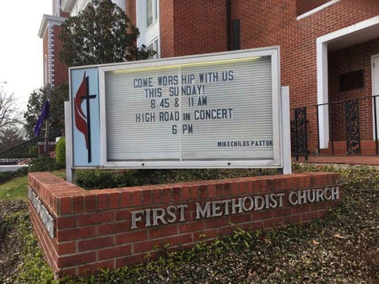 First United Methodist Church of Louisville, Mississippi