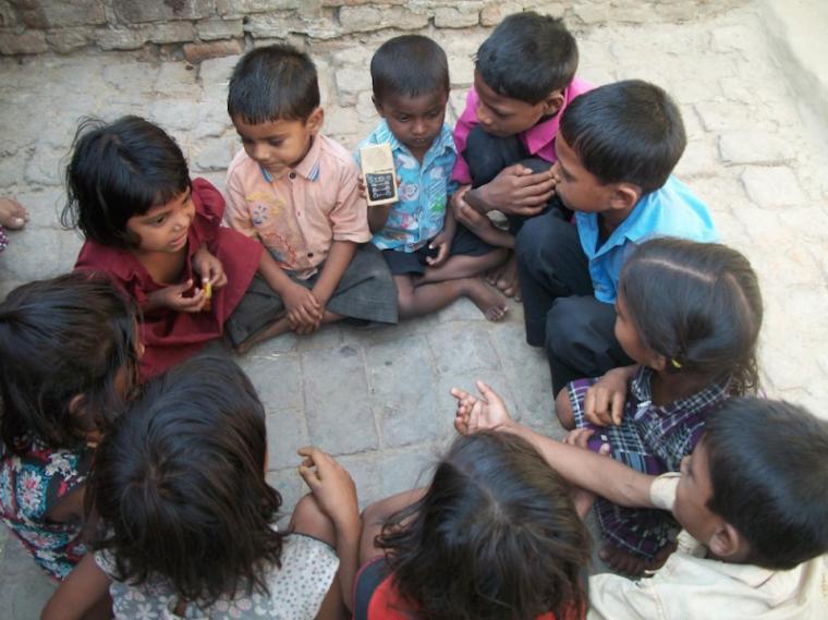 children india hear about jesus