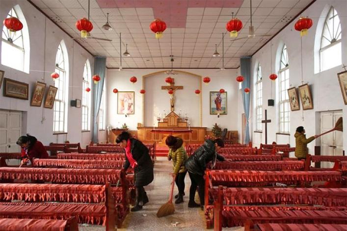 Catholics in China