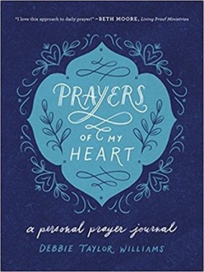 book prayers of my heart