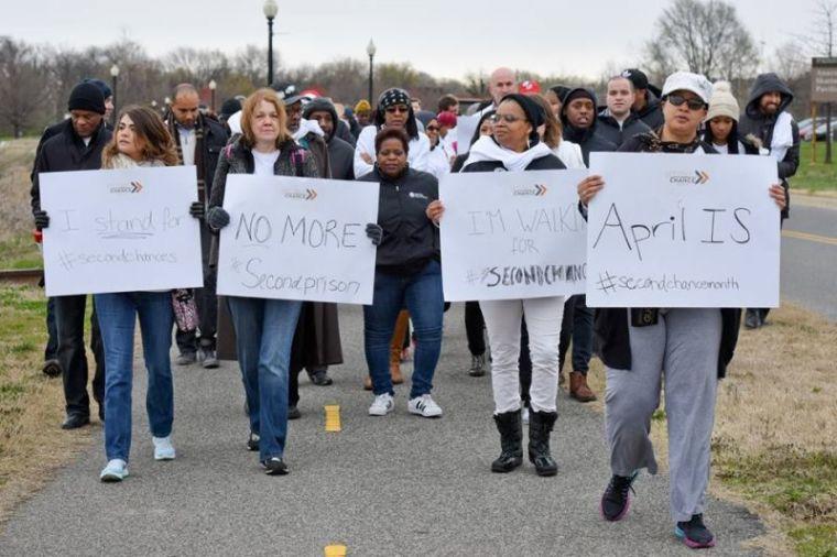Prison Fellowship Second Chance Month Prayer Walk