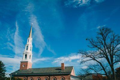 steeple, church