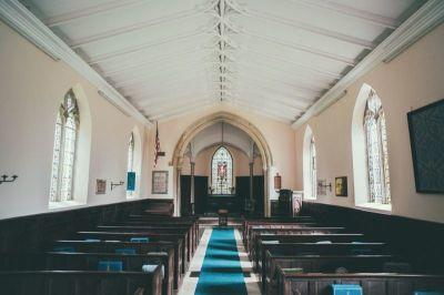 church, pews