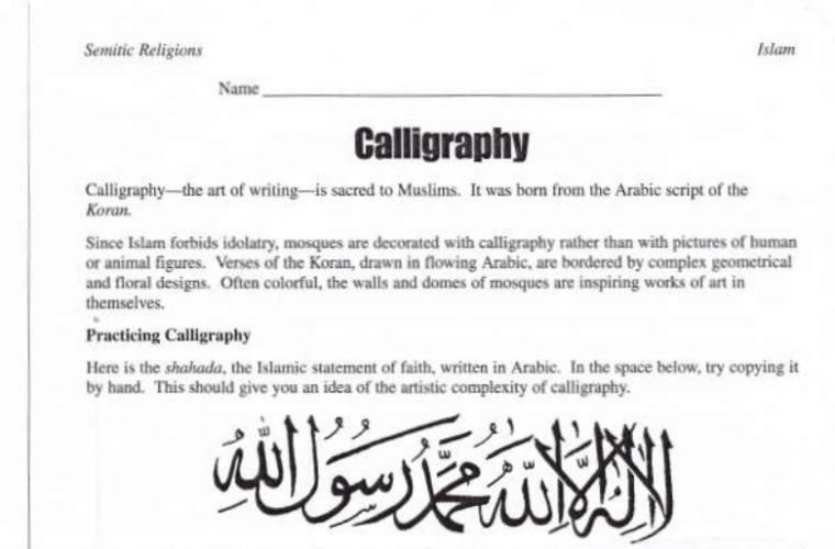 Islam assignment