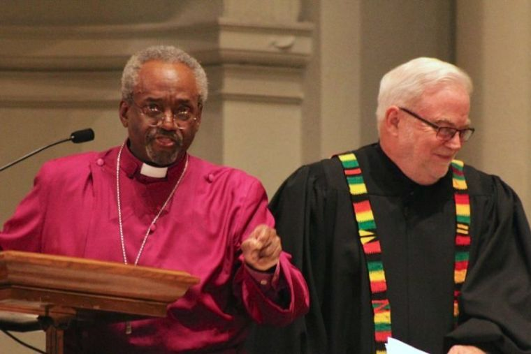Michael Curry and Jim Wallis