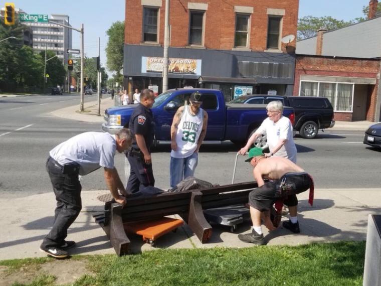Homeless Jesus Ontario
