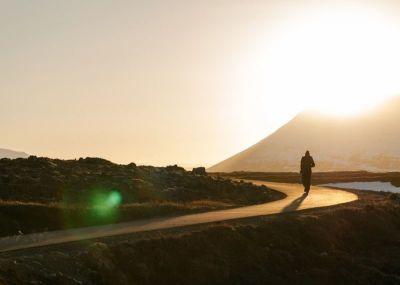 person, alone, path, road