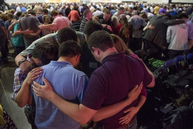 southern baptist annual meeting pray