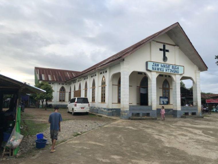 Kachin church