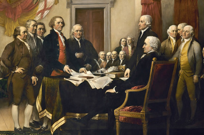 'Declaration of Independence' by John Trumbull