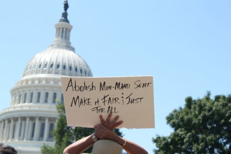 Criminal Justice reform rally at U.S. Capitol