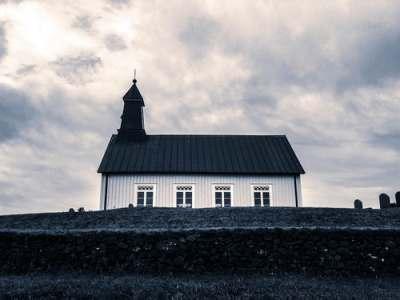 church building, steeple