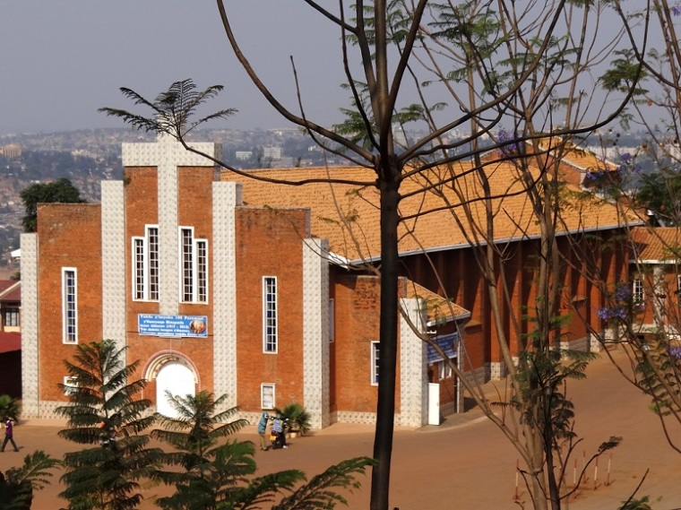 Sainte-Famille Church in Kigali