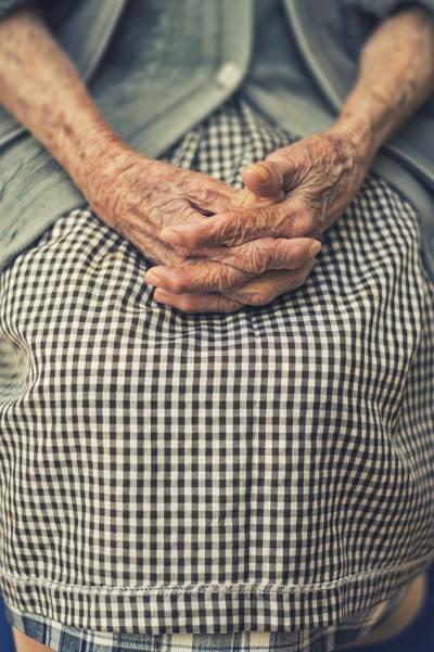elderly, grandma