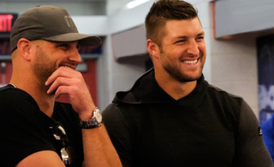 Robby Tebow and Tim Tebow