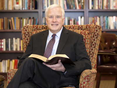 Colorado Christian University President Donald Sweeting