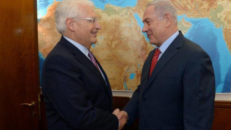 David Friedman, Benjamin Netanyahu