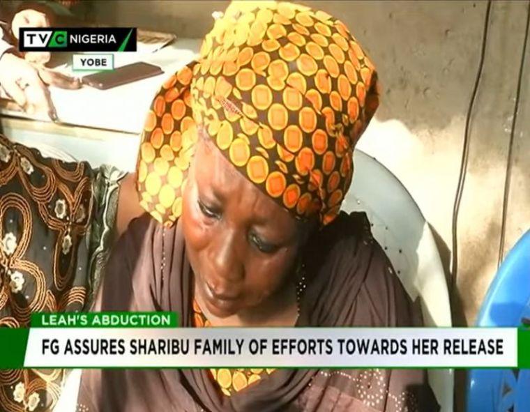 Leah Sharibu family
