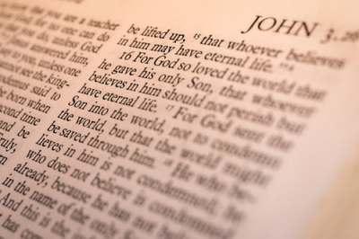 bible, john, scripture