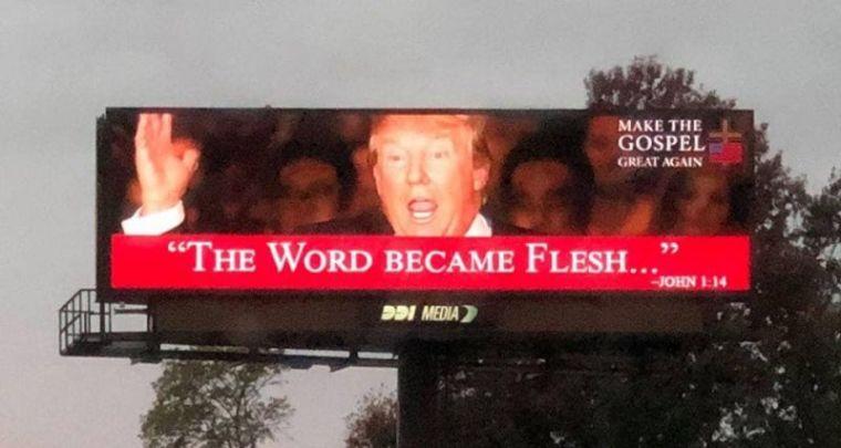 Make The Gospel Great Again Billboard