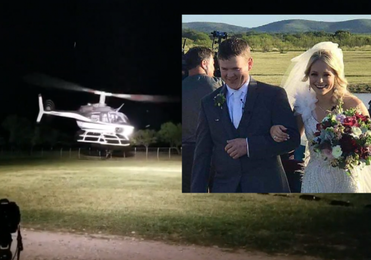 Wedding Helicopter Crash.Final Moments Of Christian Couple Killed In Wedding Day Crash Caught