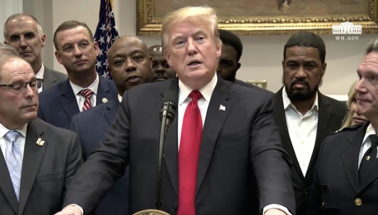 donald trump, prison reform